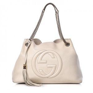 Gucci soho White bag